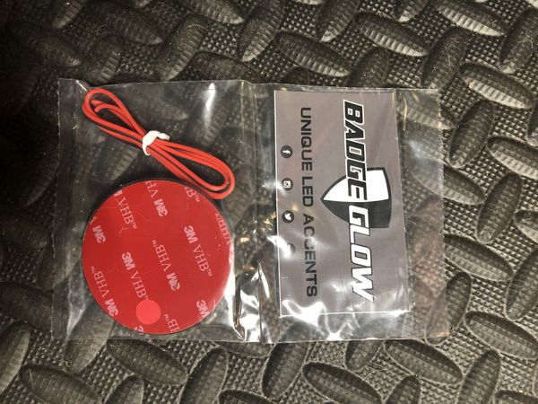 Badge Glow Red For Jeep Wrangler