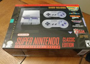 Super Nintendo Classic Edition for Sale in Middletown, CT