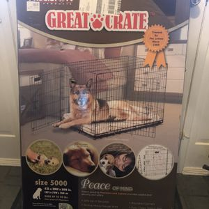 Med/Large Dog Crate w/pad for Sale in Ellicott City, MD