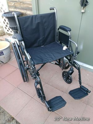 "New wheelchair with 20"" wide seat for Sale in Visalia, CA"