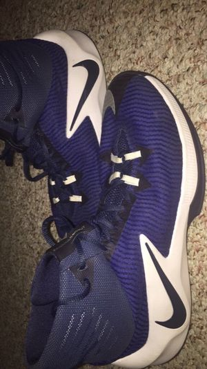 Pair Of Blue Nike Shoes for Sale in Sunbury, PA