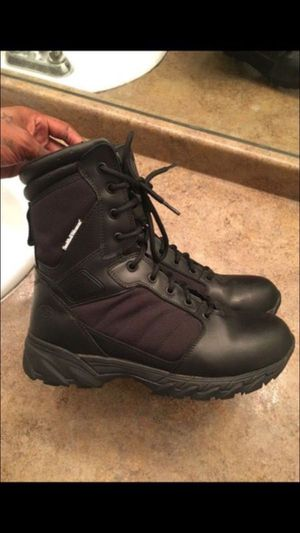 Men's Smith and Wesson leather boots - size 9.5 for Sale in Hyattsville, MD