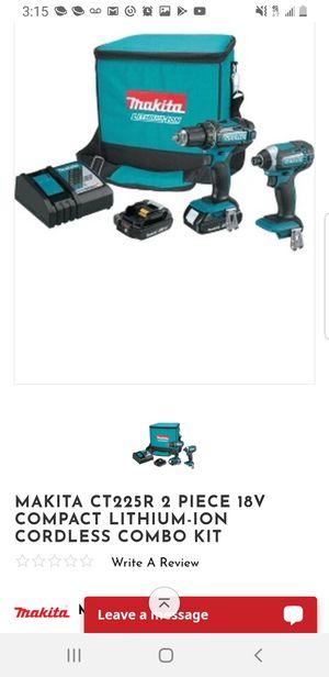 Makita 18v lxt ion compact drill set for Sale in Escondido, CA