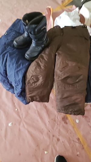 Kids Snow Pants, Jacket Boots for Sale in West Covina, CA