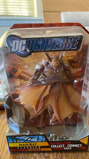 DC Universe Man Bat Classics Wave 10 Figure 5 Action 2009 Figure- New in original Packaging! for Sale in El Paso, TX