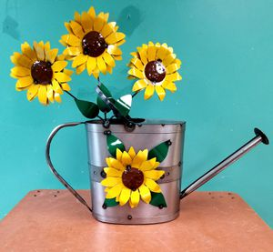 Sunflower king of handmade metal flowers for Sale in Winston-Salem, NC