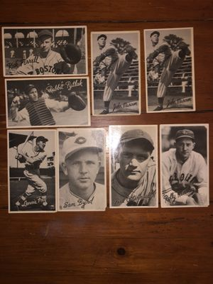Vintage baseball player cards for Sale in Highland Charter Township, MI