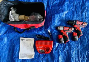 Milwaukee Drill Set for Sale in Chicago, IL