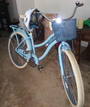 Nel Lusso woman's beach cruiser bike w/ all accessories for Sale in Portsmouth, VA