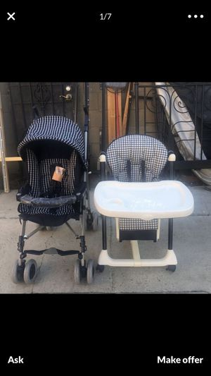 Stroller & haig chair for Sale in View Park-Windsor Hills, CA