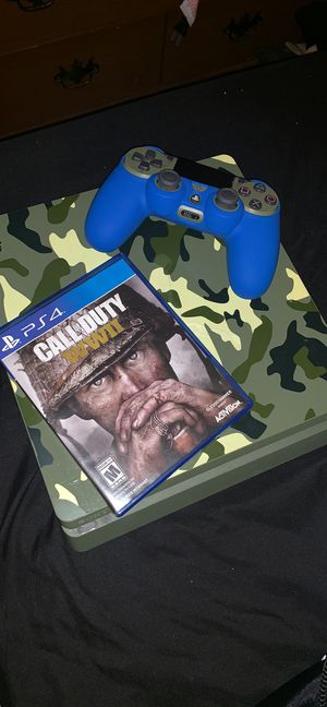 Camo 1 tb PS4 and with turtle beach headset for Sale in South Attleboro, MA