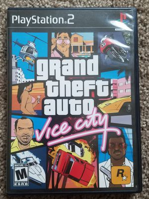 Grand theft auto vice city ps2 game for Sale in Tuscola, TX