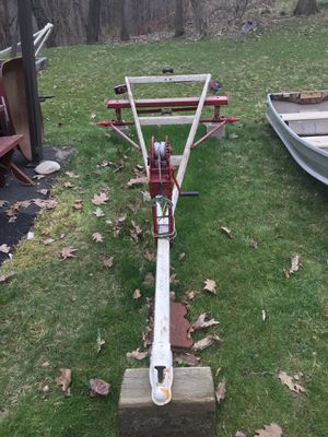 Sixteen foot aluminum boat with trailer and motor. for Sale in Penn Hills, PA