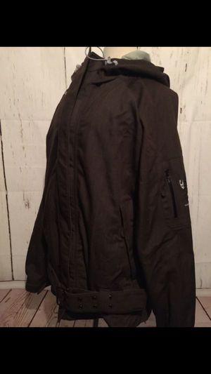 O'Neil womens Explore series dark brown snow boarding jacket 🧥 w/ hood Size large for Sale in Seattle, WA