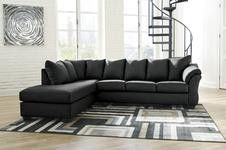 SPECIAL] Dyfarcy Black LAF Sectional for Sale in Alexandria, VA