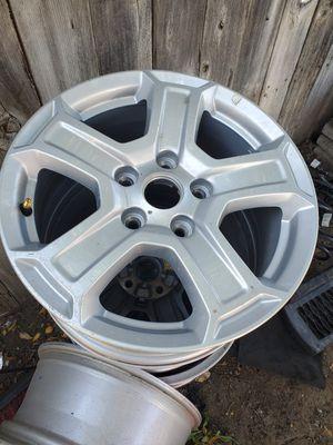 Jeep wrangler wheels 5 pieces for Sale in Pomona, CA