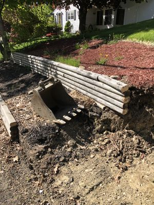 Landscape timbers Free for Sale in Newton, MA
