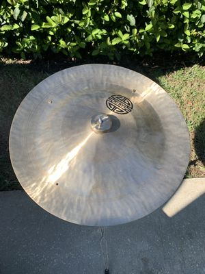 """22"""" Han chi China cymbal with rivets for Sale in Southwest Ranches, FL"""