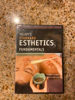 Milady's Standard Esthetics Fundamentals CD for Sale in Perris, CA