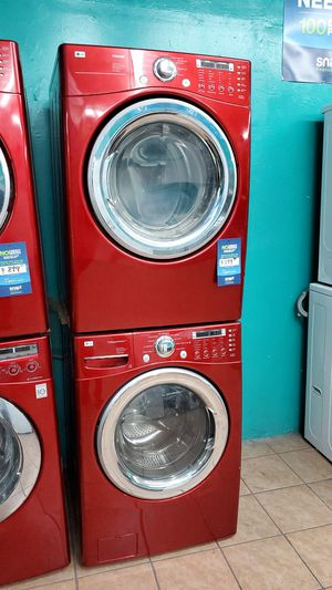 Lg washer and dryer red for Sale in Los Angeles, CA