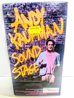 Andy Kaufman Sound Stage VHS for Sale in Garland, TX