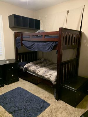 Bunk beds with drawers for Sale in Chino, CA