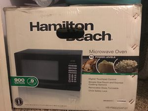 Hamilton Beach Microwave oven HB-P90D23AP-ST for Sale in Wichita, KS