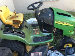 John Deere l100 tractor mower for parts / parting out for Sale in LAUD LAKES, FL