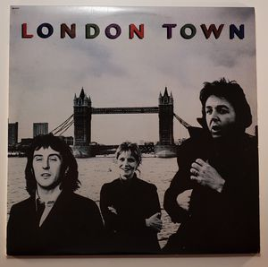 Paul McCartney & Wings 'London Town' - 1978 Capitol for Sale in Tacoma, WA