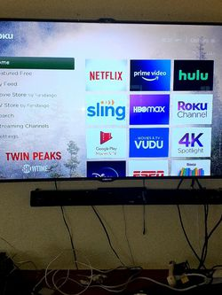 55 Inches Samsung  Led In Good Condition  Its Smart TV  W Iui Th Control  No Stand Hss Small Line In Yge Right side But You Can  Hardly see It for Sale in Dallas,  TX