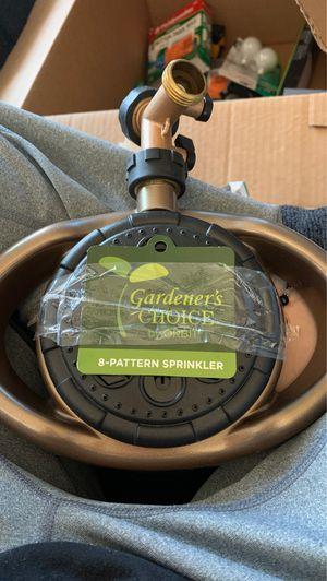 Gardens choice 8 pattern sprinkler for Sale in Pico Rivera, CA