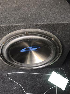 $ 95. Alpine subwoofer de 12 doble bobina tipo S for Sale in Pleasanton, CA