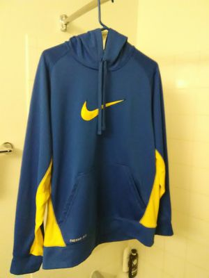 Nike Therma-Fit and Blue Hoodie Sweater Jacket / Size: Large / Like New for Sale in Phoenix, AZ