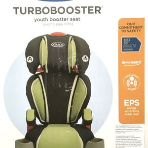NEW Graco TurboBooster Highback or Backless Youth Booster Seat + FREE KID FACE SHIELD for Sale in Santa Ana, CA