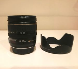 Canon lens 24 - 85 mint condition for Sale in Gibsonton, FL