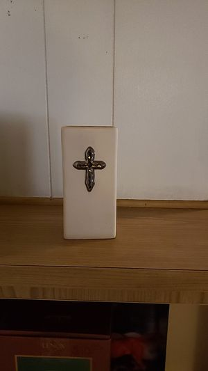 Cross candle holder for Sale in Oak Glen, CA