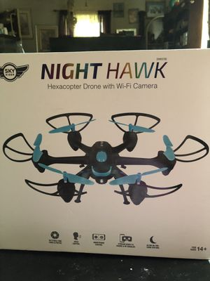 Night hawk helicopter drone w/ camera for Sale in Saint Ann, MO
