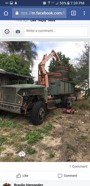 Orange Fruit loader/ trailer/tubs for Sale in Avon Park, FL