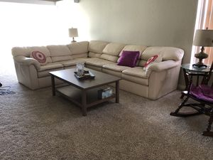 Leather Sectional for Sale in Anaheim, CA