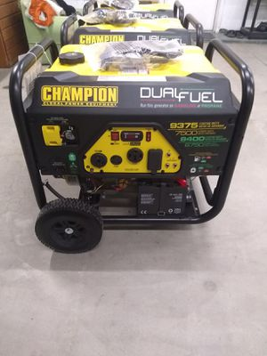 Brand New Champion Generator for Sale in Bakersfield, CA