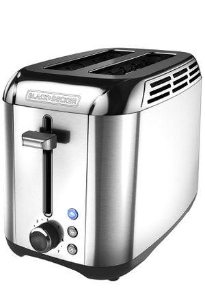 Black+Decker TR3500SD Bread toaster, Silver BRAND NEW for Sale in Garden Grove, CA