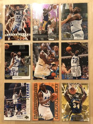 Shaq vintage collectible cards for Sale in Los Angeles, CA