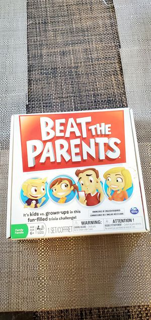 Family Board Game of Kids Vs. Parents for Sale in Austin, TX