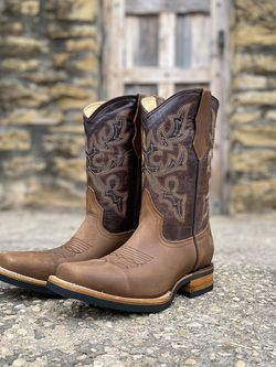 Bota Estilo Rodeo | Work Some - 100% Leather! ROMÁN BOOTS!! Delivery Service Included!!! for Sale in San Antonio,  TX
