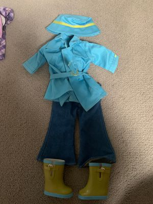 American girl doll rain outfit set for Sale in Kirkland, WA