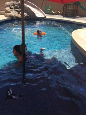 Pool and spa remodel ,mini pebble,plaster, tile and kool deck we also offer diving pool depth conversion into play pool and add on baja play shelf's for Sale in Tolleson, AZ