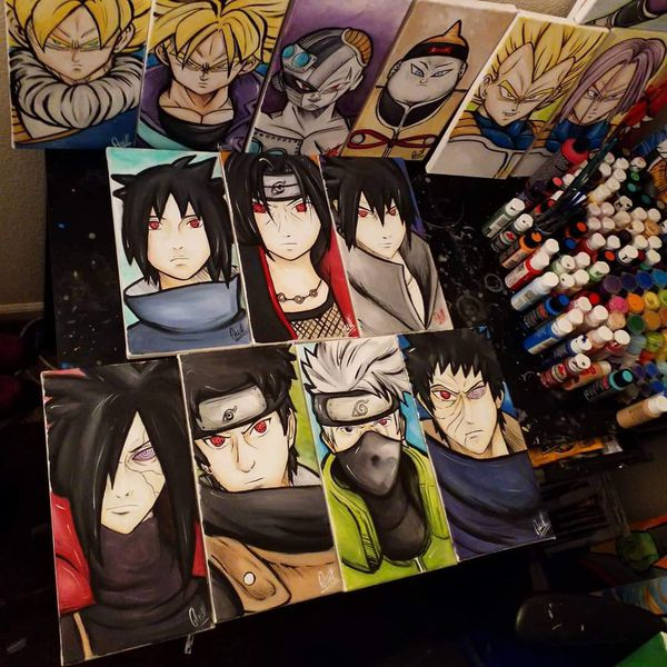 Uchiha/Sharingan Set! By Quil - Naruto Shippuden