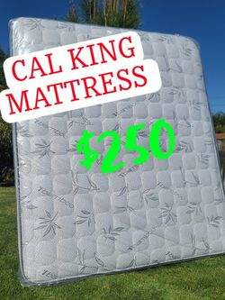 CAL KING MATTRESS 🤴🏽 for Sale in Riverside,  CA