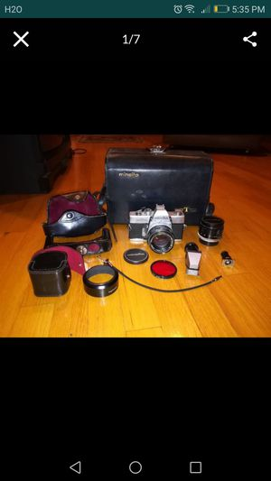 Vintage lot of Minolta camera and accessories for Sale in Agawam, MA
