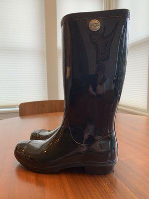Ugg Rain Boots Black Size 9 for Sale in Shoreline, WA
